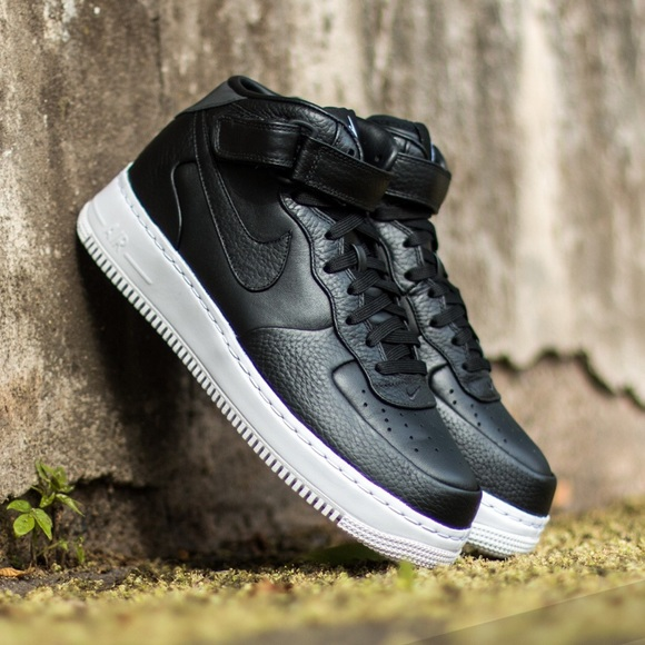 Nike Shoes Lab Air Force 1 Mid Black 45y Poshmark